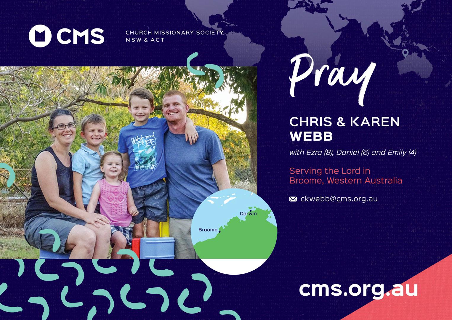 CMS Link Missionaries - Webb