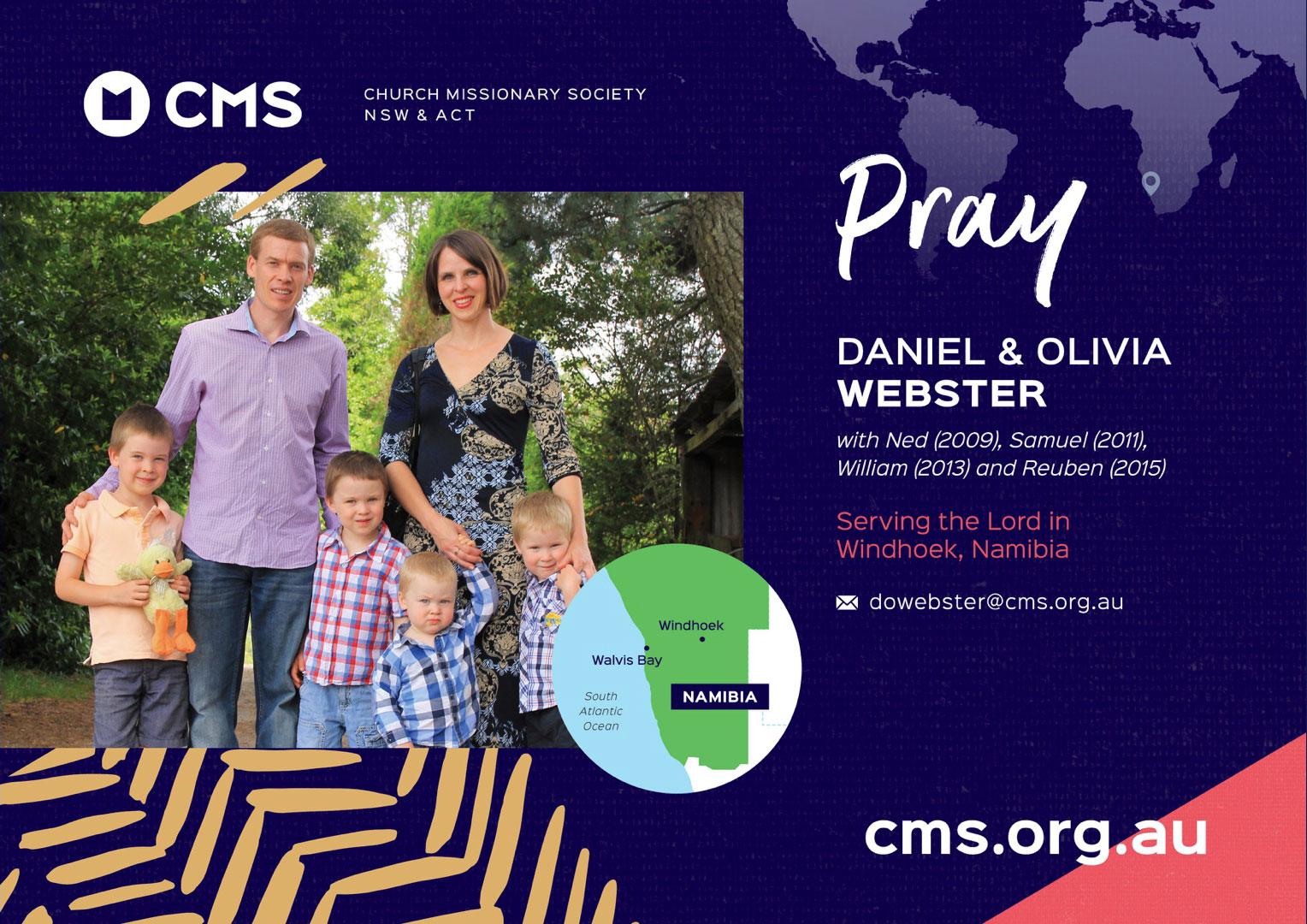 CMS Link Missionaries - Webster